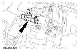 ford workshop manuals > galaxy  install the clutch slave cylinder bleed nipple dust cap