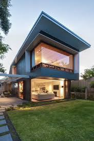 Coogee House in Sydney Featuring a Lovely Glass-Roofed Pergola ...