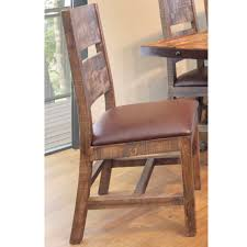 Antique Multi Color Dining Chair