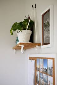 Hanging shelf - for next to the play kitchen (to keep the extra food/