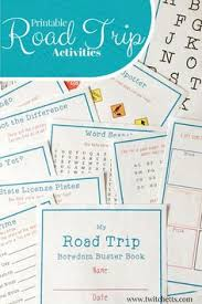 20 printable road trip activities that will make your trip awesome family road tripsroad trip with kidstravel
