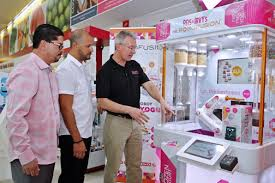 Froyo Vending Machine Cost Magnificent In The News Robofusion Inc