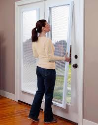 Wondrous Mini Blinds For Patio Door Patio Doors Magnetic Blinds For ...