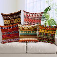 Bohemian Throw Pillow Covers