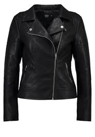 only onlcara faux leather jacket black women clothing jackets only coats at debenhams