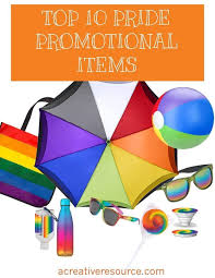 Top Promotional Top 10 Pride Promotional Products Creative Resources