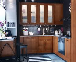Kitchen Cupboard For A Small Kitchen Design White Small Kitchen Cabinet With Open Shelves Black Glossy