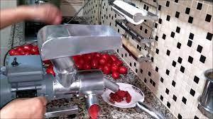 Ev Tipi Salça Makinası - YouTube