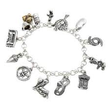 picture of new orleans 10 charm bracelet