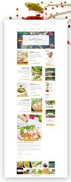 Food Recipe Template Recipe Food Psd Template On Behance