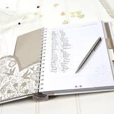 Busy B Heart Wedding Planner Book Beautiful Gift Stationery Oceanj