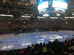 Scotiabank Maple Leafs Seating Chart Scotiabank Arena Section 121 Toronto Maple Leafs