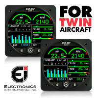 faa approved aircraft engine instruments electronics international Cgr 30p Wiring Diagram cgr 30p twin engine monitor CGR 30P Ei