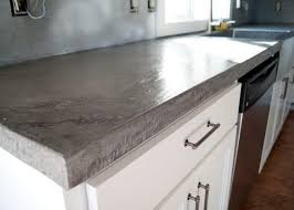 how to build a classy concrete countertop steve39s u cart