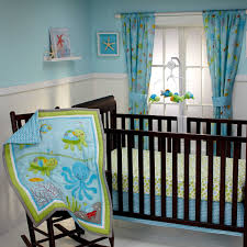 under the sea wall mural for nursery baby bedding set with creatures