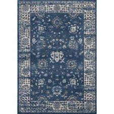 serenity azlyn midnight blue 5 ft 3 in x 7 ft 2 in