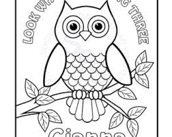 Small Picture Owl Coloring Pages To Print Find This Pin And More On Model