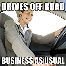 Woman Driver memes | quickmeme via Relatably.com