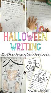 check out this free halloween haunted house writing lesson for primary teachers called in the check haunted house