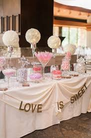 candy buffet table ideas romantic california wedding with pastel