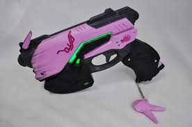 Dva Light Gun Amazon Com Dva Light Gun With Leds Free Overwatch Banner