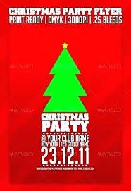 Christmas Flyer Templates Christmas Club Flyer Template Free