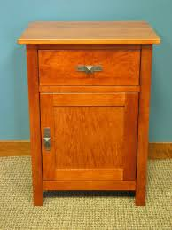 drawer nightstand w shelf