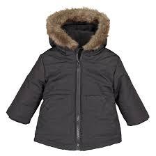 <b>Куртка</b> с капюшоном <b>утепленная</b> 3 мес-3 лет темно-серый <b>La</b> ...
