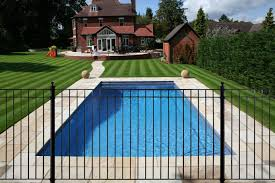 Decorative Pool Fence Best Wrought Iron Swimming Pool Fencing And Gate Models