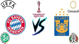 2020 FIFA Club World Cup Final Tigres UANL VS Bayern Munich Prediction -  YouTube