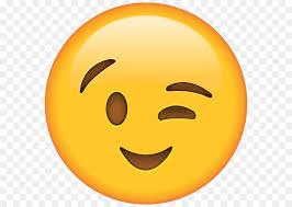 Emoji Wink Emoticon Smiley Sticker Emoji Png Download 640 640