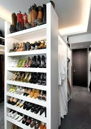 built in shoe rack in closet innovative closet shoe rack by studio architecture