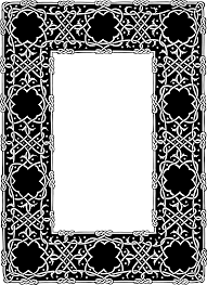 this free icons png design of ornate geometric frame black ornate frame png o6 black