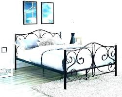 king size wrought iron bed – provid