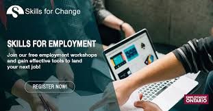 Skills For Employment Skills For Change Skills For Employment Skills For Change