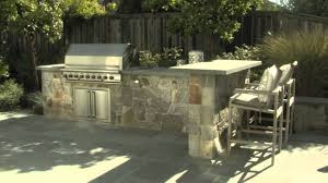 Backyard Kitchen Backyard Kitchen Bluestone Countertop Youtube