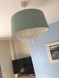 lamp shadelaura ashleyin whitley bay tyne and wear duck egg blue laura ashley lampshade