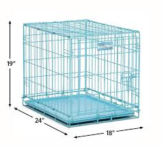 Light Blue Dog Crate Midwest Icrate Folding Metal Dog Crate