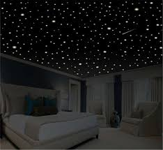 Wall Bedroom Decor Extraordinary Romantic Bedroom Decor Star Wall Decal Glow In The Dark Etsy