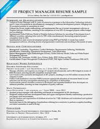 Sample Resume Project Coordinator Project Manager Resume Sample Writing Tips Resume Companion 64