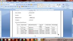 How To Make Resume In Computer Pc Laptop How To Learn Resume