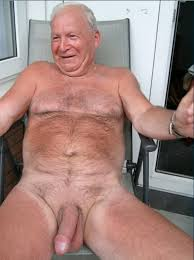 Old men with hairy cocks