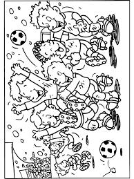 Kleurplaat Wk Voetbal Kampioen Kleurplatennl