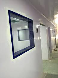 flush double glass window replace pane aluminum frame