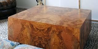 wood cube coffee table burl wood coffee table burl laminate coffee table featured image burl wood