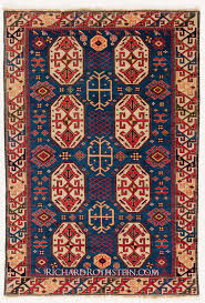 beautiful reference of red and blue oriental rug 4