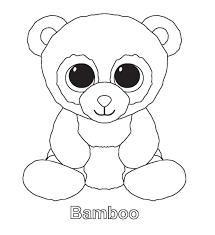 Beanie Boo Kleurplaat At Fyj31 Agneswamu