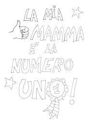 Disegni Da Colorare E Stampare Con Disegni Festa Della Mamma Da