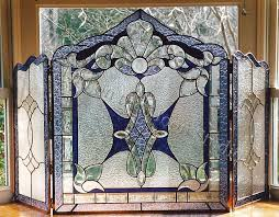 our stained glass fireplace screens bring together functionality with the artistic beauty of stained glass over the years our clients have discovered many