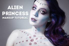 alien princess makeup tutorial in under 3 minutes